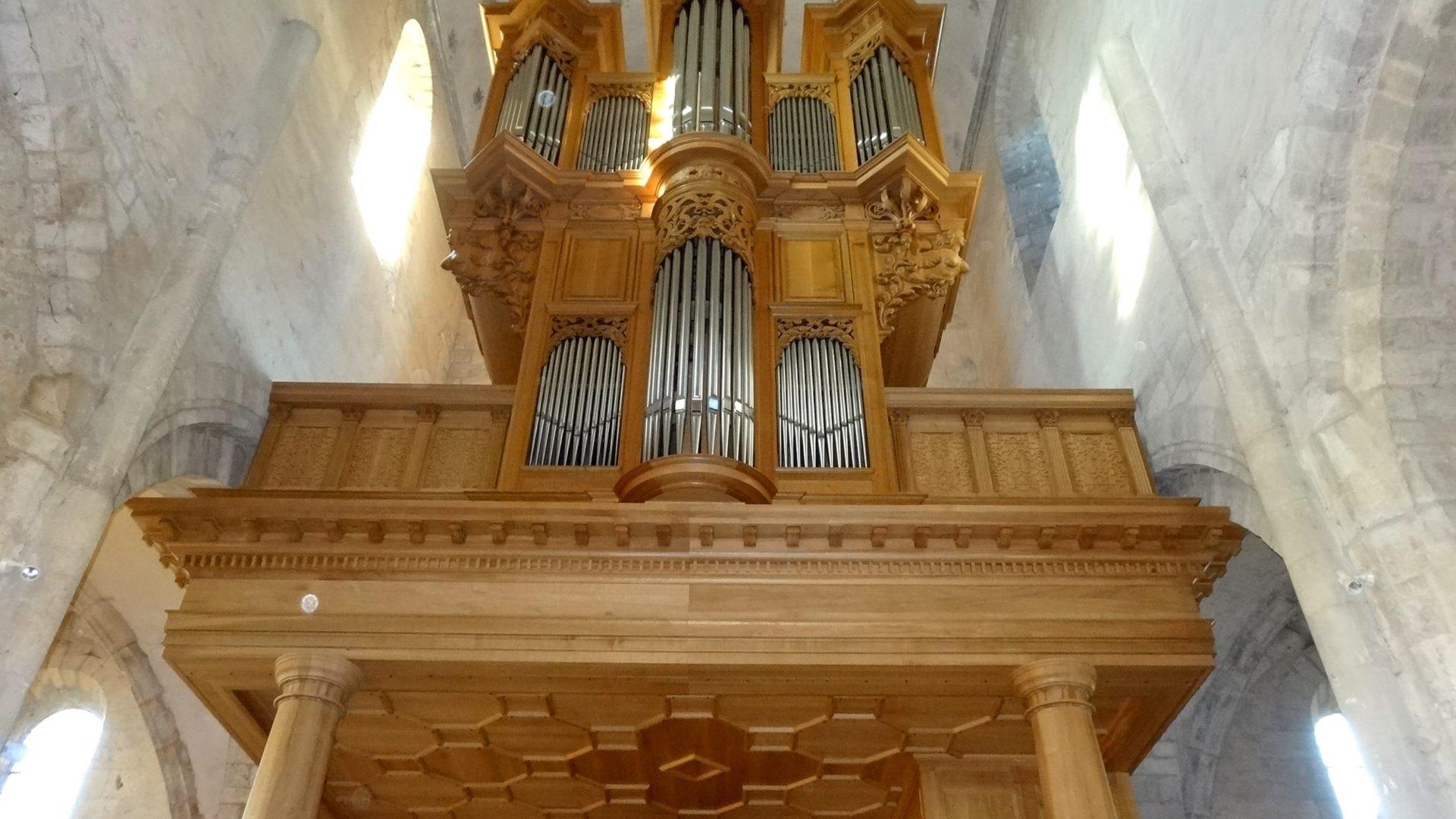 Tribune d'orgue Eglise Saint-Gilles